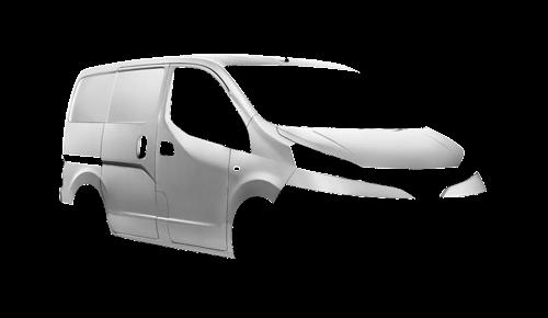 Цвета кузова NV200 Kasten